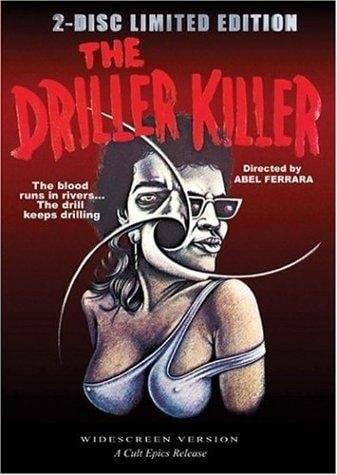 The Driller Killer (1979) starring Abel Ferrara on DVD on DVD