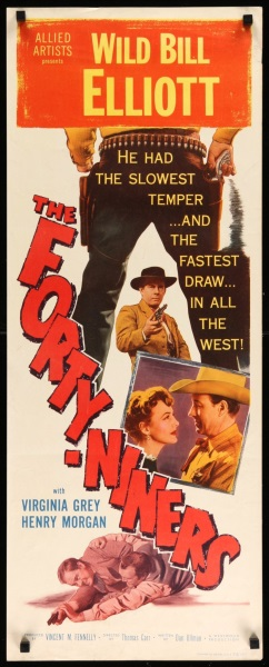 The Forty-Niners (1954) starring Bill Elliott on DVD on DVD