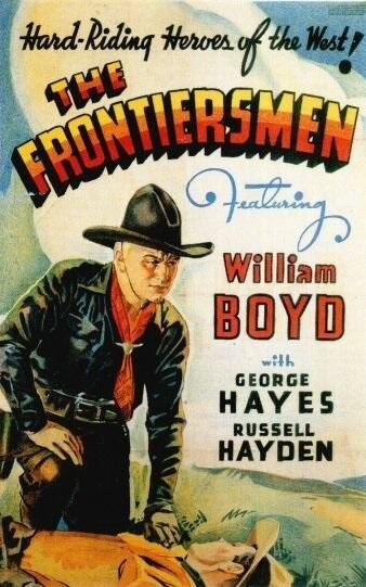 The Frontiersmen (1938) starring William Boyd on DVD on DVD
