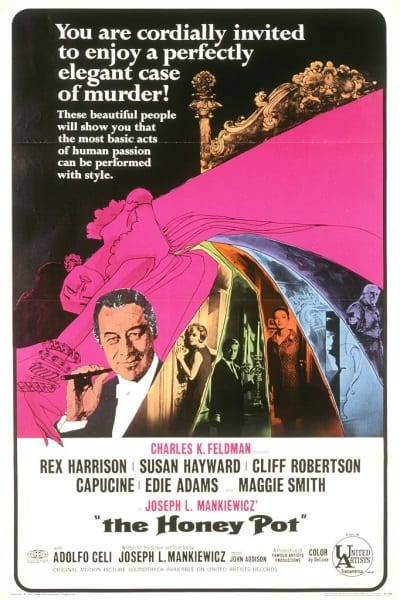 The Honey Pot (1967) starring Rex Harrison on DVD on DVD
