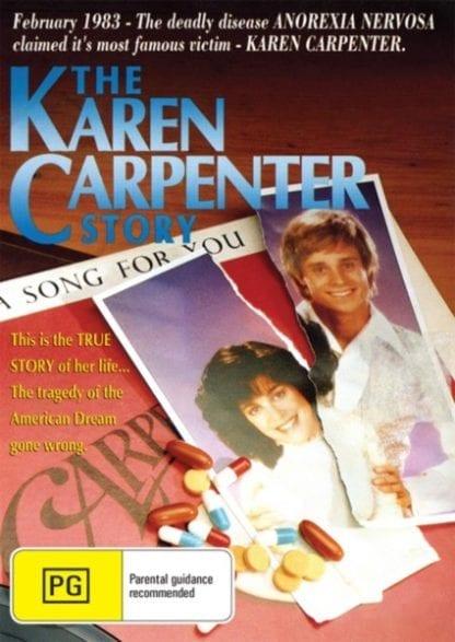 The Karen Carpenter Story (1989) starring Cynthia Gibb on DVD on DVD