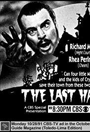 The Last Halloween (1991) starring Rhea Perlman on DVD on DVD