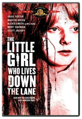 The Little Girl Who Lives Down the Lane (1976) starring Jodie Foster on DVD on DVD