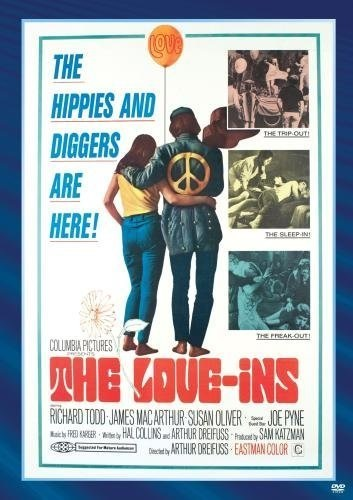 The Love-Ins (1967) starring Richard Todd on DVD on DVD