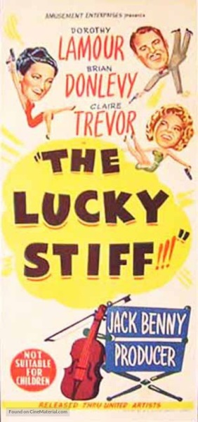 The Lucky Stiff (1949) starring Dorothy Lamour on DVD on DVD