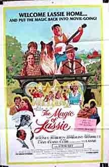 The Magic of Lassie (1978) starring Mickey Rooney on DVD on DVD