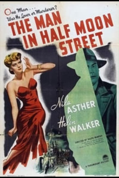 The Man in Half Moon Street (1945) starring Nils Asther on DVD on DVD