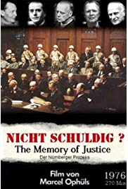 The Memory of Justice (1976) 4.5 Hours with English Subtitles on DVD on DVD