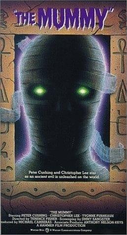 The Mummy (1959) starring Peter Cushing on DVD on DVD