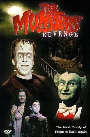 The Munsters' Revenge (1981) starring Fred Gwynne on DVD on DVD