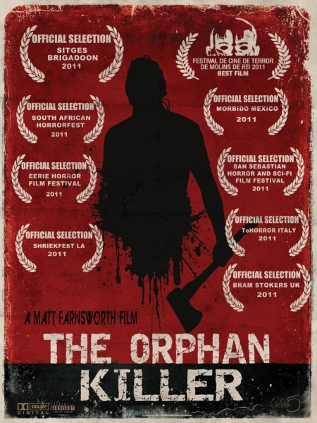 The Orphan Killer (2011) starring Diane Foster on DVD