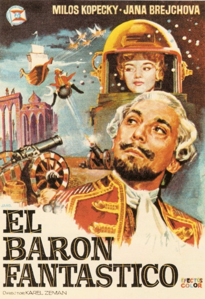 The Outrageous Baron Munchausen (1962) with English Subtitles on DVD on DVD