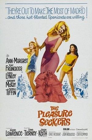 The Pleasure Seekers (1964) starring Ann-Margret on DVD on DVD