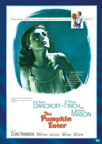 The Pumpkin Eater (1964) starring Anne Bancroft on DVD