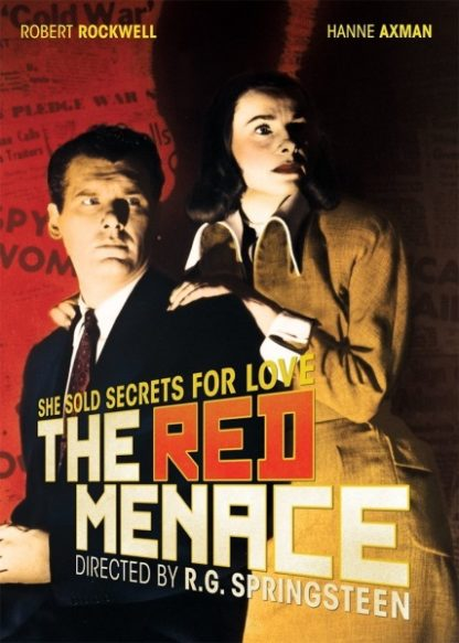 The Red Menace (1949) starring Robert Rockwell on DVD on DVD