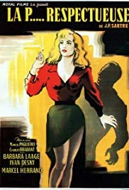 The Respectful Whore (1952) with English Subtitles on DVD on DVD