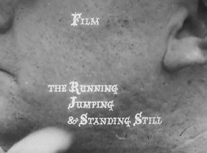 The Running Jumping & Standing Still Film (1959) with English Subtitles on DVD on DVD