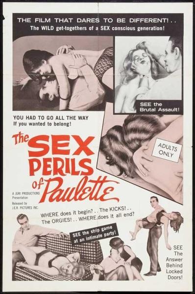 The Sex Perils of Paulette (1965) starring Anna Karol on DVD on DVD