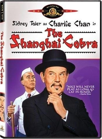 The Shanghai Cobra (1945) starring Sidney Toler on DVD