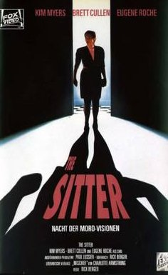 The Sitter (1991) starring Kim Myers on DVD on DVD