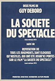 The Society of the Spectacle (1974) with English Subtitles on DVD on DVD