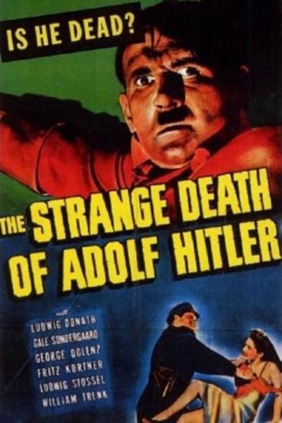 The Strange Death of Adolf Hitler (1943) starring Ludwig Donath on DVD on DVD