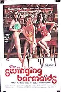 The Swinging Barmaids (1975) starring Bruce Watson on DVD on DVD