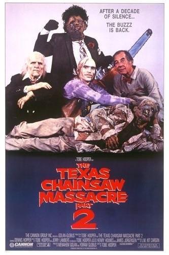 The Texas Chainsaw Massacre 2 (1986) starring Dennis Hopper on DVD on DVD