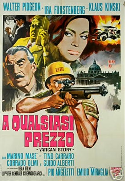 The Vatican Affair (1968) with English Subtitles on DVD on DVD