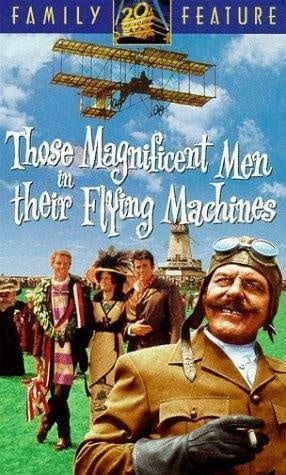 Those Magnificent Men in Their Flying Machines or How I Flew from London to Paris in 25 hours 11 minutes (1965) with English Subtitles on DVD on DVD