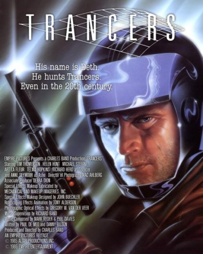 Trancers (1984) starring Tim Thomerson on DVD on DVD