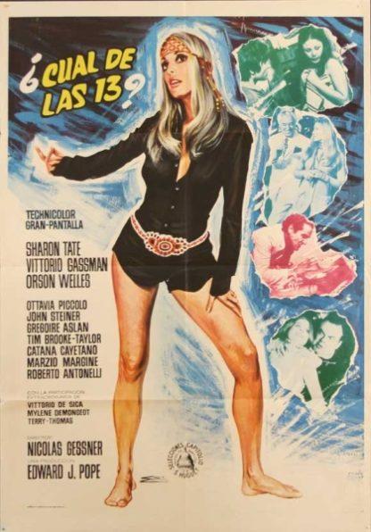 Twelve Plus One (1969) starring Sharon Tate on DVD on DVD