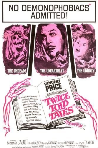 Twice-Told Tales (1963) starring Vincent Price on DVD on DVD