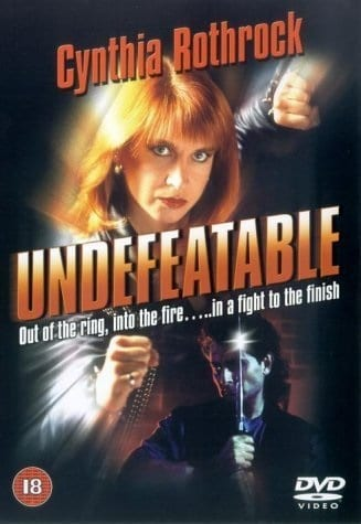 Undefeatable (1993) starring Cynthia Rothrock on DVD on DVD