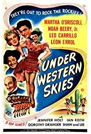 Under Western Skies (1945) starring Martha O'Driscoll on DVD on DVD