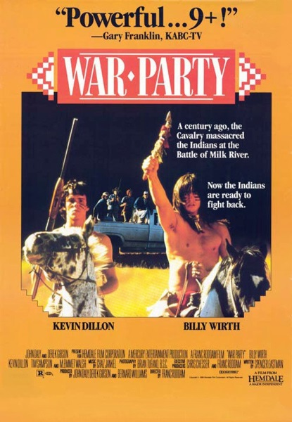 War Party (1988) starring Billy Wirth on DVD on DVD