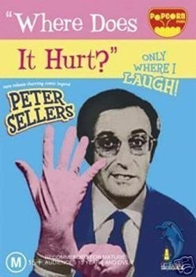 Where Does It Hurt? (1972) starring Peter Sellers on DVD on DVD
