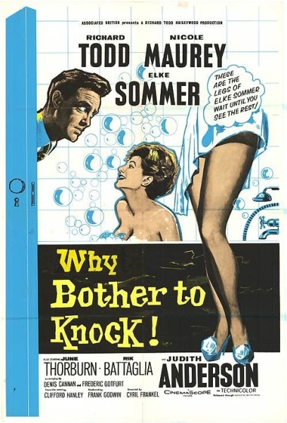 Why Bother to Knock (1961) starring Richard Todd on DVD on DVD