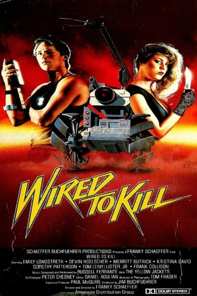 Wired to Kill (1986) starring Emily Longstreth on DVD on DVD
