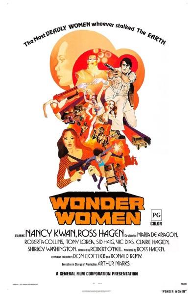 Wonder Women (1973) with English Subtitles on DVD