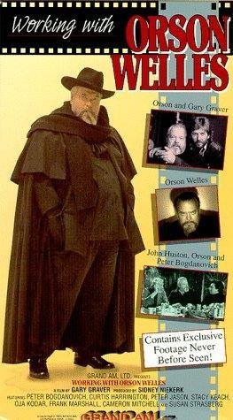 Working with Orson Welles (1993) starring Peter Bogdanovich on DVD on DVD