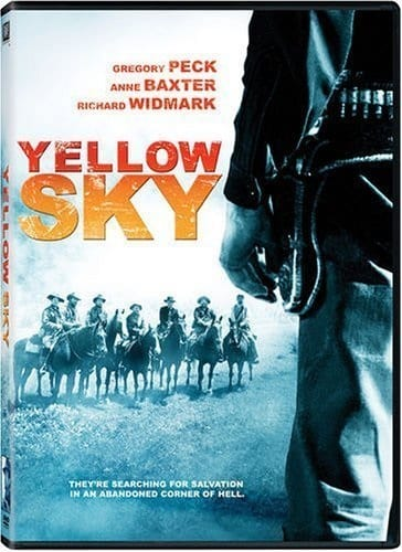 Yellow Sky (1948) starring Gregory Peck on DVD on DVD
