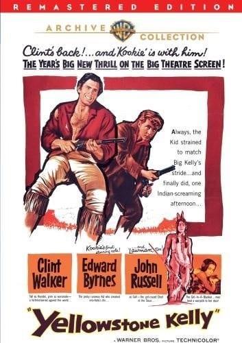 Yellowstone Kelly (1959) starring Clint Walker on DVD on DVD