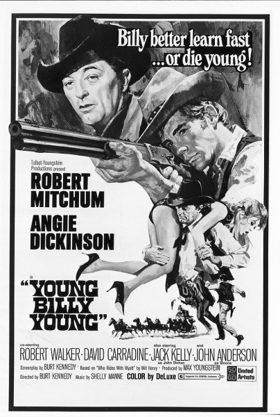 Young Billy Young (1969) starring Robert Mitchum on DVD on DVD