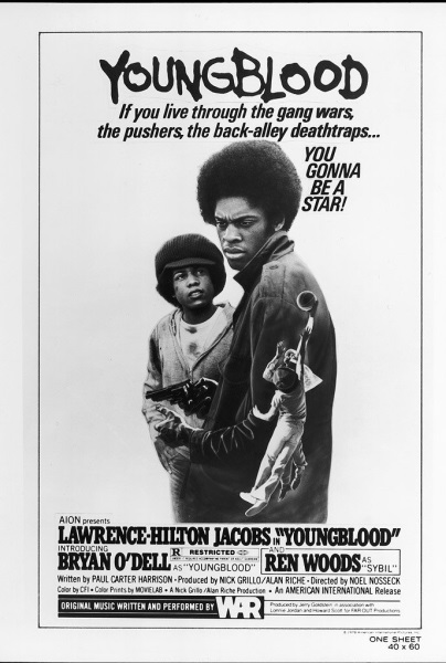 Youngblood (1978) starring Lawrence-Hilton Jacobs on DVD on DVD