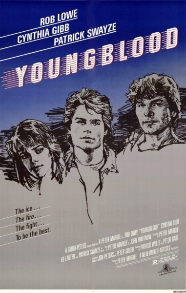Youngblood (1986) starring Rob Lowe on DVD on DVD
