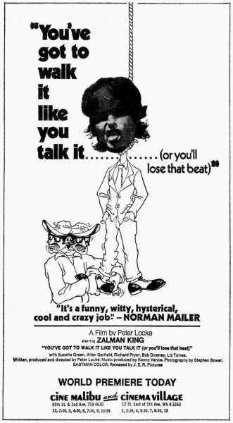 You've Got to Walk It Like You Talk It or You'll Lose That Beat (1971) Soundtrack on DVD