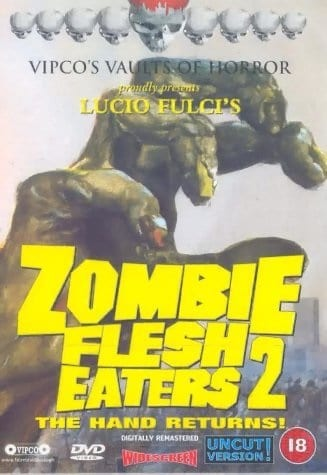 Zombie 3 (1988) with English Subtitles on DVD on DVD