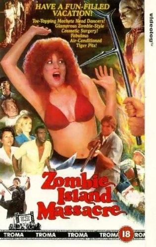 Zombie Island Massacre (1984) starring David Broadnax on DVD on DVD