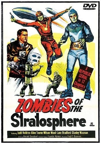 Zombies of the Stratosphere (1952) starring Judd Holdren on DVD on DVD